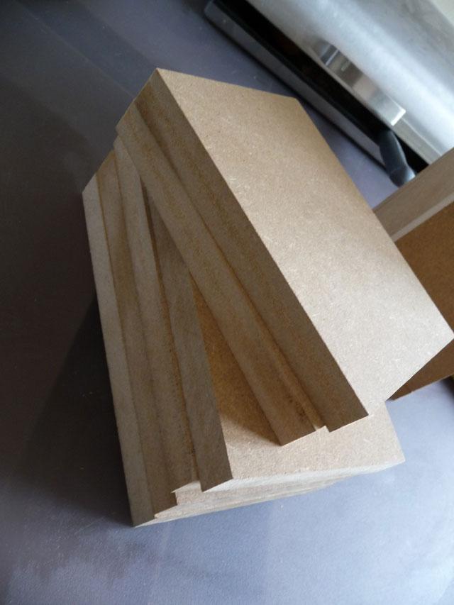 Découpe du bois - enceintes sph-30x
