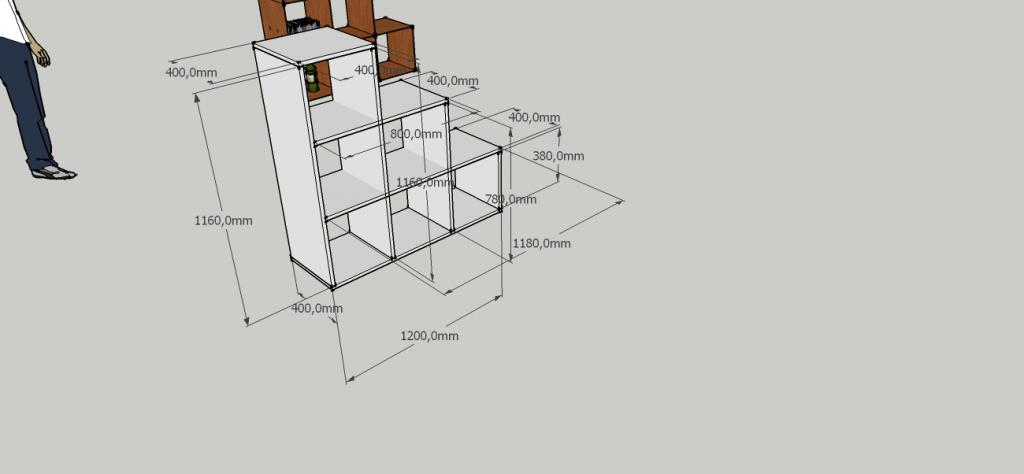etageres en bois escalier diy